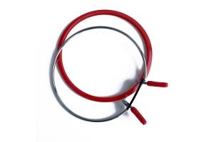 Самозапяливающиеся (пружинные) пяльцы NURGE, 126 мм, красные