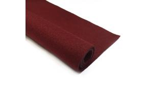 Фетр бордовий, 1.3 мм 20*30 см