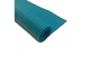 Фетр бирюзовый 1.3 мм 20*30 см