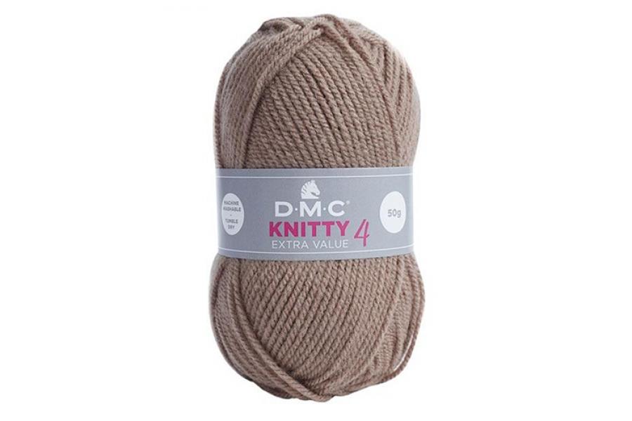 Пряжа DMC Knitty 4 № 927 (коричневый)