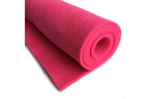 Фетр розовый, 3 мм 37*50 см