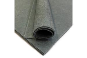 Фетр жесткий, серый, 1 мм, 20*30 см