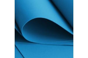 Фоамиран, голубой, 15*20 см