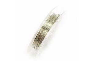 Стальной тросик, 0.45 мм, серебро