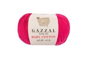 Пряжа Gazzal Baby Cotton № 3415