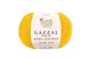 Пряжа Gazzal Baby Cotton № 3417