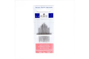 Набор игл для вышивания №3-9 DMC, 16 шт