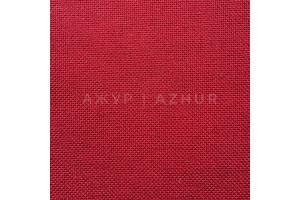 Канва равномерная, домотканое полотно № 30 Коломия, 10*10 см, 30 каунт, темно-красная (для микровышивки)