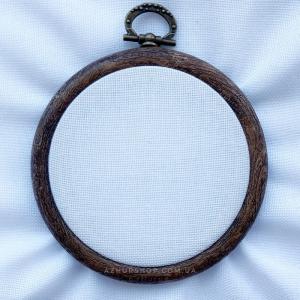 Канва рівномірна (домоткане полотно, для мікровишивки) 23*24 см, 36 каунт, біла (ФА082дБ4075)