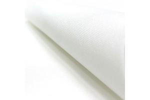 Канва равномерная Murano Lugana Zweigart, 32 каунт, 20*20 см, белая (100)