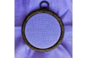 Канва равномерная (для микровышивки) Edinburgt-Aida Zweigart 10*10 см 36 каунт, лавандовый (3217/5120)