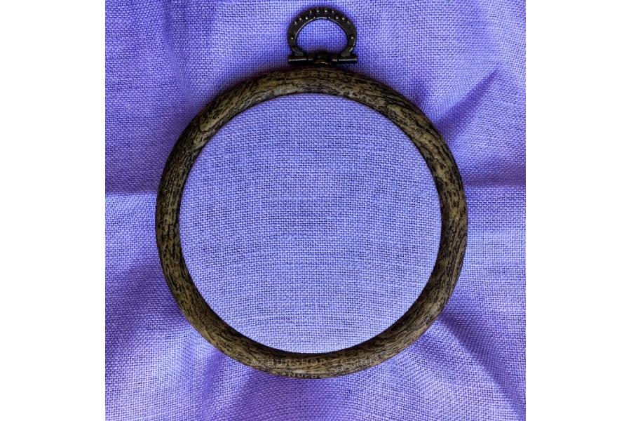 Канва рівномірна (для мікровишивки) Edinburgt-Aida Zweigart 10*10 см, 36 каунт, лавандовий (3217/5120)