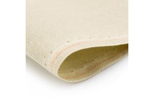 Канва равномерная Murano Lugana Zweigart 20*20 см 32 каунт, песок (770), (для микровышивки)