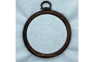 Канва рівномірна Newcastle Zweigart 10*10 см 40 каунт, срібляста луна (3348/7011), (для мікровишивки)