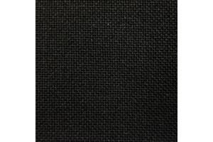 Канва равномерная Linda Schulertuch Zweigart, 27 каунт, черная (720), 10*10 см
