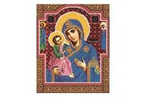 Набір для вишивання бісером Богородиця «Єрусалимська»