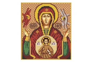 Набір для вишивання бісером Богородиця «Знамення»