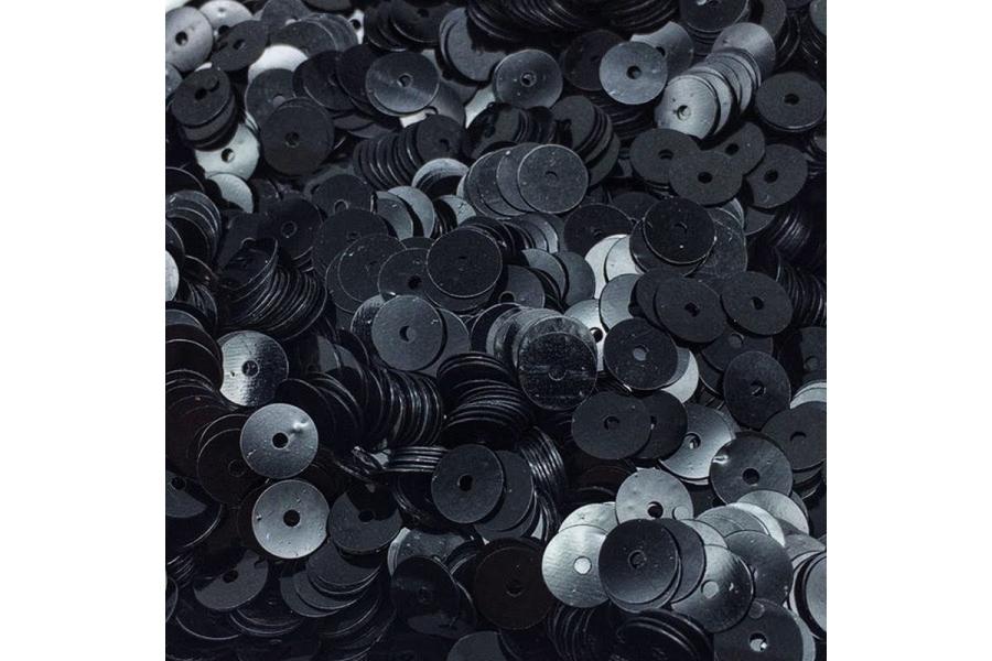 Пайетки DMS (ОАЭ), плоские, 6 мм