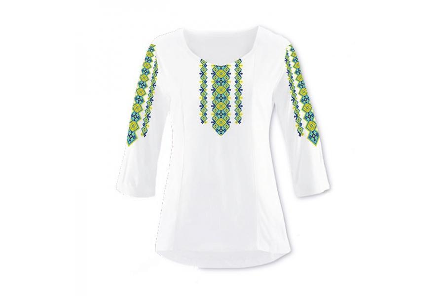 Заготовка для вышивки женской сорочки (вышиванка)